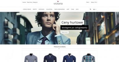 Koszule Victorio – sklep z odzieżą męską