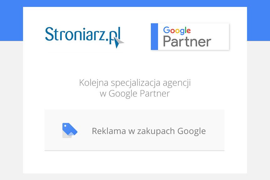 Reklama wZakupach Google- nowa specjalizacja